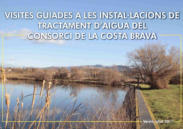 Visites guiades a les instal·lacions de tractament d'aigua del Consorci de la Costa Brava